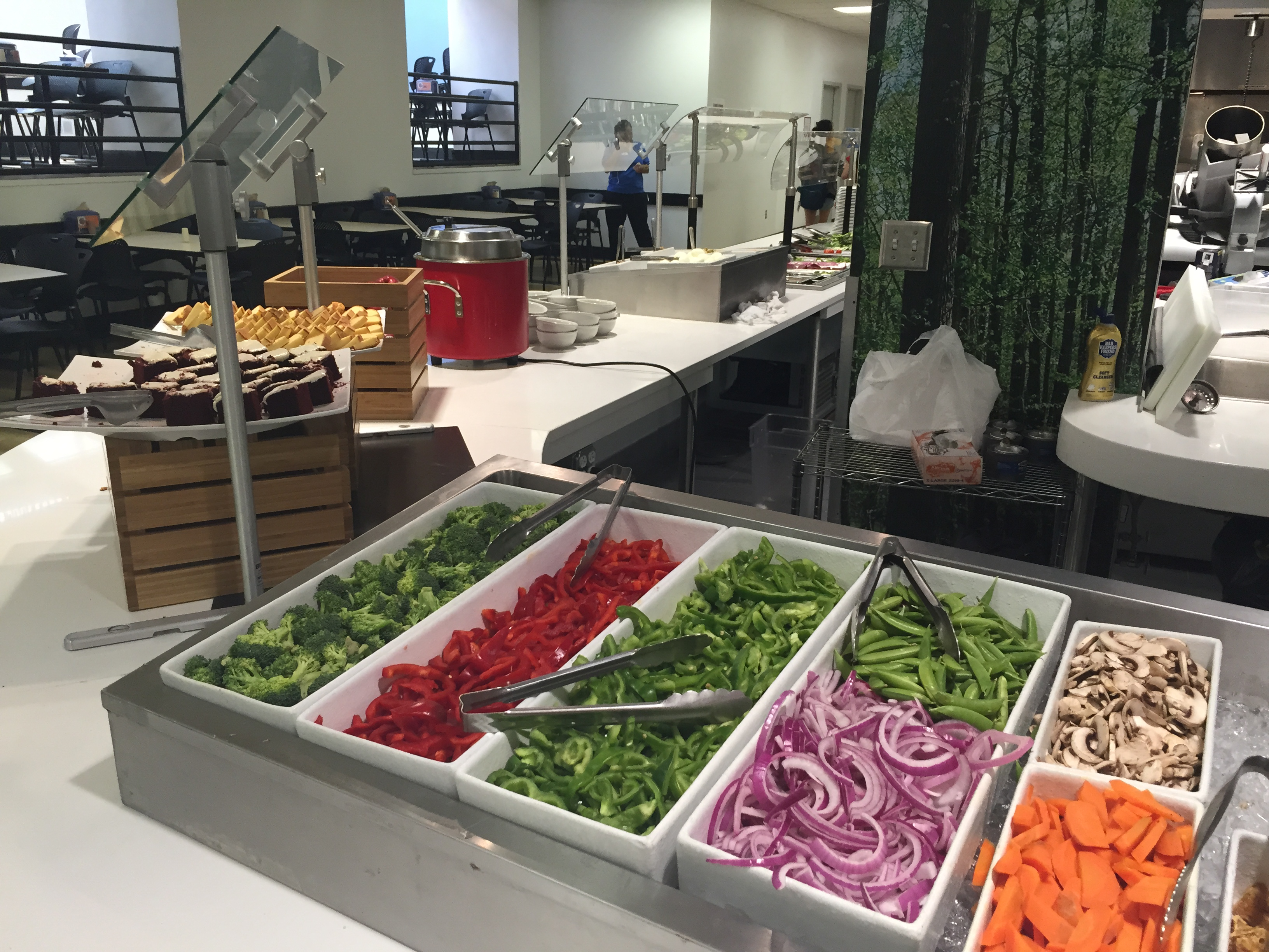 Salad Bar (one side)
