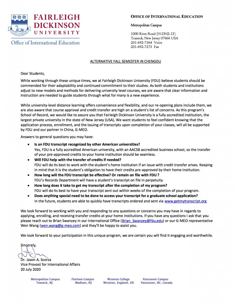 Student lettter G-MEO fall 2020 enrollment and transcritps (1) (1)