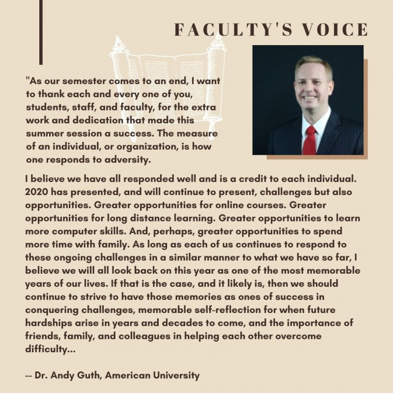 G-MEO Faculty's voice from summer 2020 online session
