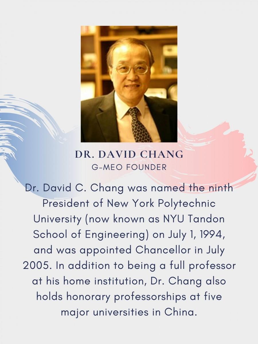Dr. David Chang's Bio